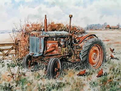 1947 Land Utility Fordson E27N by Steven Binks