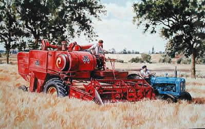 60s Harvest No.2 by Steven Binks