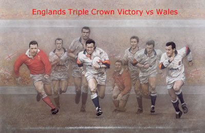 A Call To Arms - Triple Crown - England win vs Wales small