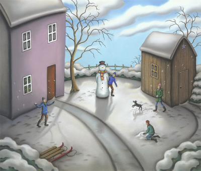 A Snowman's Story by Paul Horton