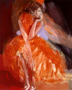 After The Ball - Canvas by Christine Comyn