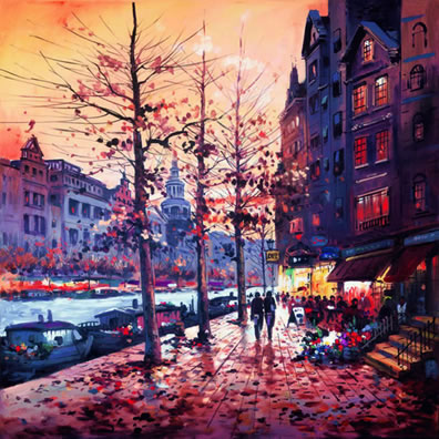 Amsterdam Glow by Henderson Cisz