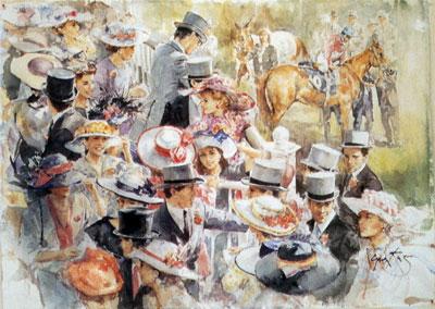 Ascot Hats by Gordon King