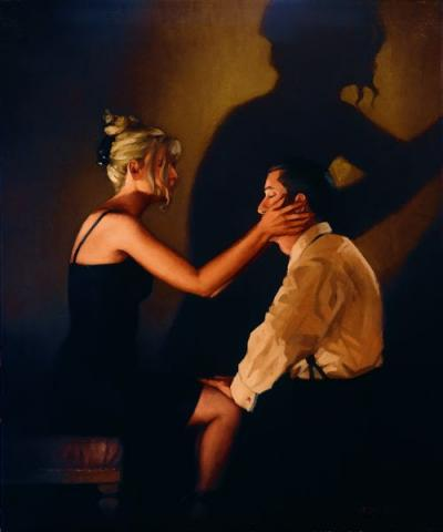 At Last, My Lovely by Jack Vettriano