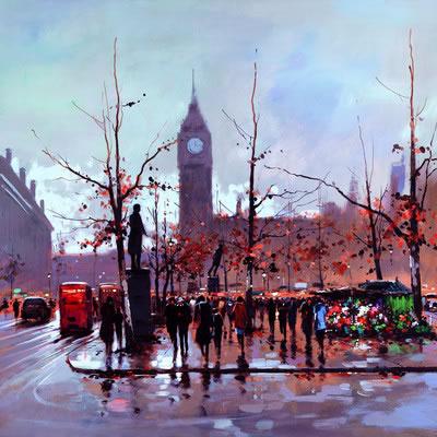 Big Ben (London) by Henderson Cisz