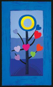 Blue Love Tree