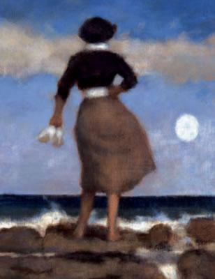 Blue Skies II - On Canvas