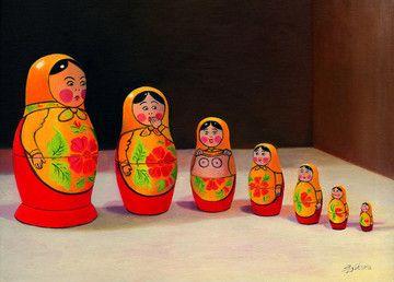 Blushin' Dolls by Sarah Jane Szikora