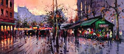 Boulevard de Paris by Henderson Cisz