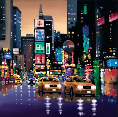 bright lights big city by neil dawson price please call. Black Bedroom Furniture Sets. Home Design Ideas