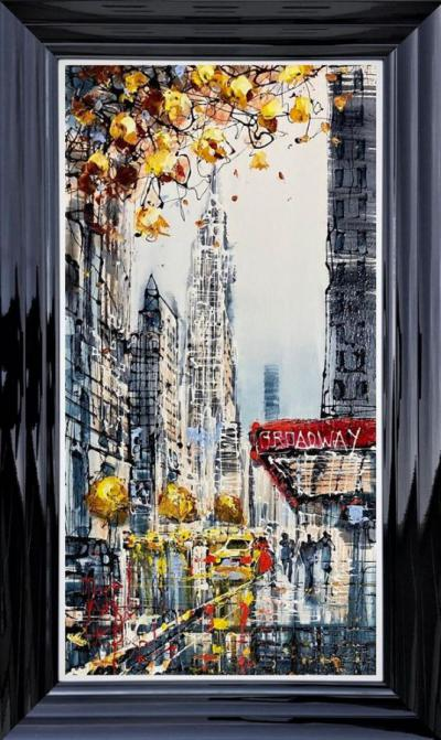 Broadway Stroll by Nigel Cooke