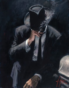 Buenos Aires Night (Board) by Fabian Perez