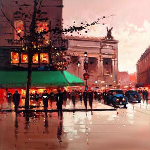 Cafe De La Paix (Paris) by Henderson Cisz