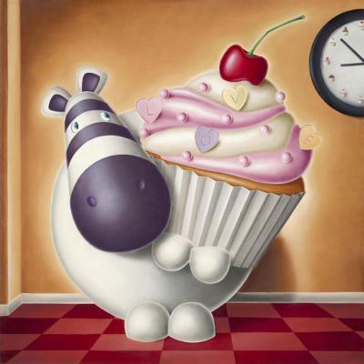 Cake O'Clock - Box Canvas