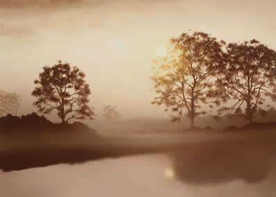 Calm Waters by John Waterhouse