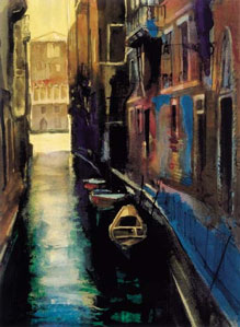 Canal Venice by Cecil Rice