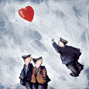 Carried Away (Balloon) by George Somerville