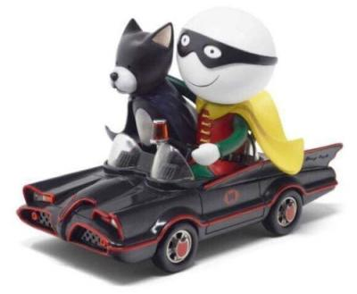 Catman and Robin by Doug Hyde