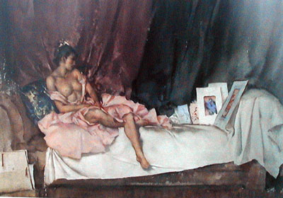 Cecilia & Her Studies by Russell Flint