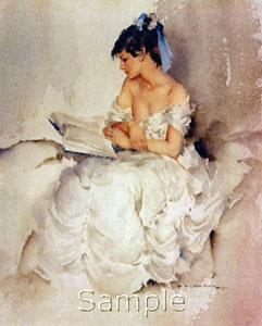 Cecilia Reading by Russell Flint