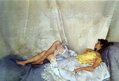 Cecilia Reclining by Russell Flint