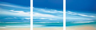 Cerulean Skies (Triptych)