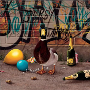 Champagne Charlie by Paul James