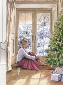 Christmas Contemplation by Steven Binks