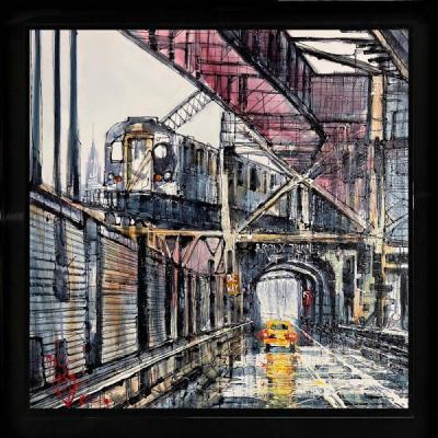 City Commute by Nigel Cooke