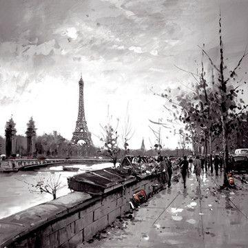 City Visions II - Paris by Henderson Cisz