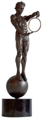 conquest-man-bronze-resin-15367