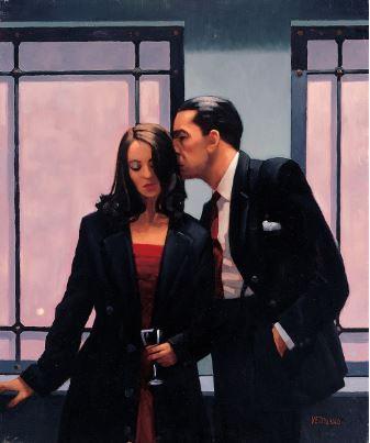 Contemplation of Betrayal by Jack Vettriano