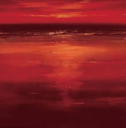Crimson Reflection I