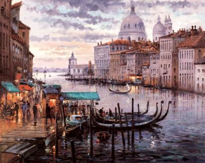 Crossing the Grand Canal by Henderson Cisz