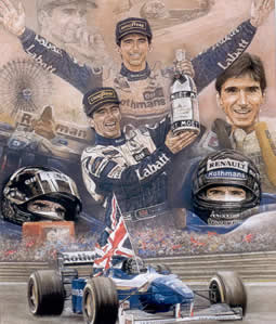 Damon Hill World Champion