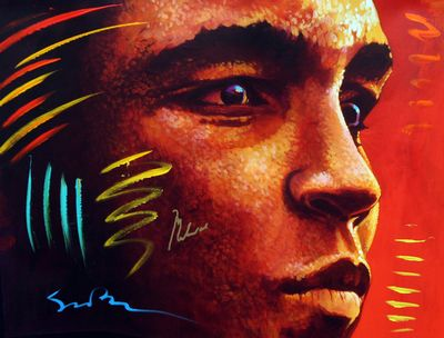 Distant Thunder (signed by Muhammad Ali) by Simon Bull