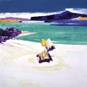 Ebbing Tide - Iona by John Lowrie Morrison