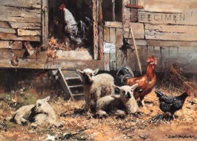Eggs Sixpence A Dozen by David Shepherd