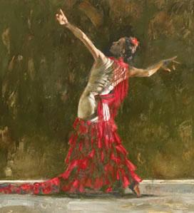 El Baile De Pasion (Dance Of Passion)(canvas)