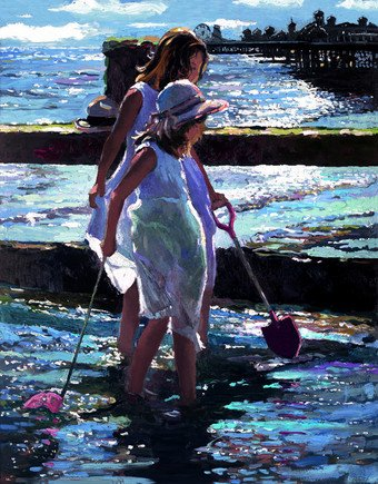End of A Perfect Day by Sherree Valentine Daines