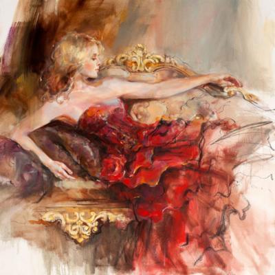 English Rose by Anna Razumovskaya
