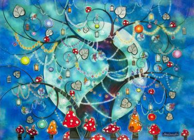 Fairy Lanterns by Kerry Darlington