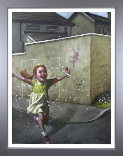 Faith, Trust & Pixie Dust - Canvas by Craig Davison