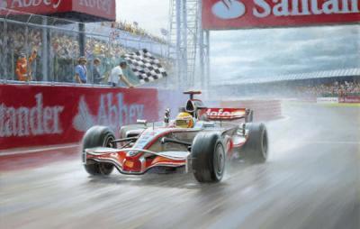 Fan-Tastic (Lewis Hamilton) by Tony Smith
