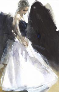 Feel Like Dancing - Canvas by Christine Comyn