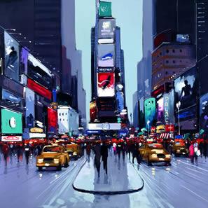 Fifth Avenue (New York) by Henderson Cisz