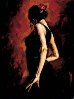 Flamenco I by Fabian Perez