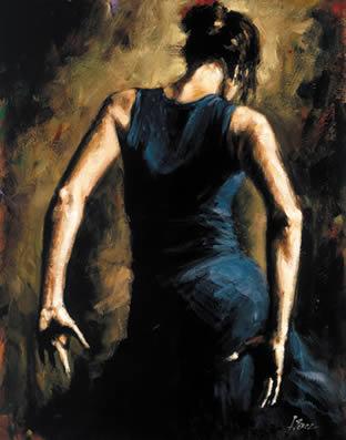 Flamenco II by Fabian Perez