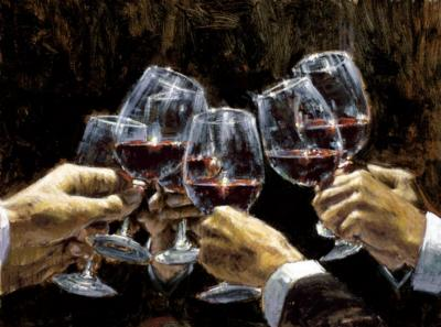 For A Better Life Con Tinto by Fabian Perez