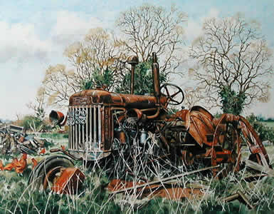 Fordson P6 at Blox Hall by Steven Binks